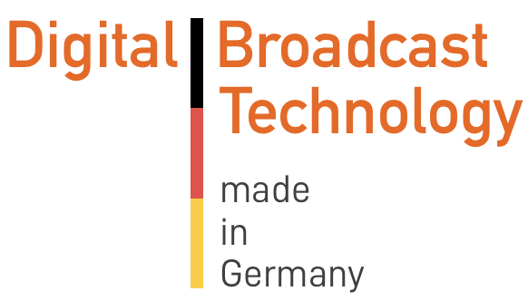 digital broadcast technology made in Germany
